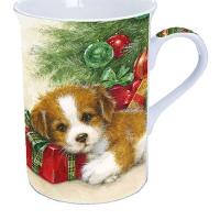 Porzellan-Tasse Gift Guard