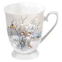 Porzellan-Tasse - Birds On Branches