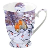 Porzellan-Tasse -  0.25 L Robins On Branch