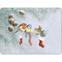Tischsets - Christmas Socks
