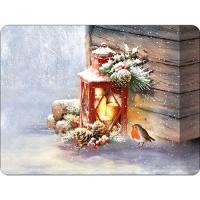 Tischsets - Robin By Lantern