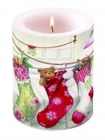 Kerze Christmas Stockings