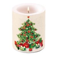 Dekorkerze - Weihnachtsbaum