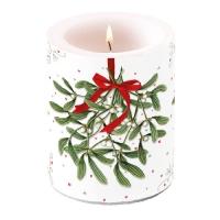 Kerze Mistletoe