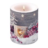 Dekorkerze - Birch Candlelight