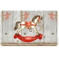 Breakfast Tray - Rocking Horse