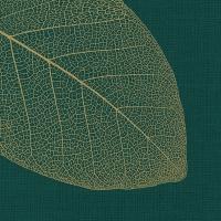 Servietten 33x33 cm - Apart, smaragd