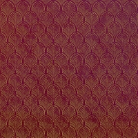 Servietten 33x33 cm - Art Déco, rubin-gold