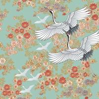 Servietten 33x33 cm - Kimono, mint