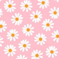 Servietten 25x25 cm - Dancing Daisies  rosa