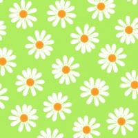 Servietten 25x25 cm - Dancing Daisies grün