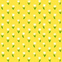 Servietten 25x25 cm - Minitulips gelb