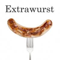 Servietten 33x33 cm - Extrawurst