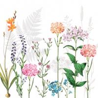 Servietten 33x33 cm - Botanica