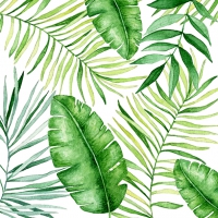 Servietten 33x33 cm - Jungle Leaves
