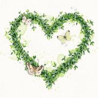 Servietten 33x33 cm - Green Dream