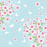 Servietten 33x33 cm - Cherry Spring