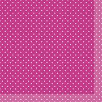 Servietten 24x24 cm - Brook Pink