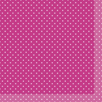 Servietten 33x33 cm - Brook Pink