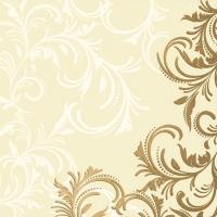 Servietten 24x24 cm - Grace Cream