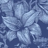 Servietten 24x24 cm - Firenze Blue