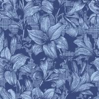 Servietten 33x33 cm - Firenze Blue