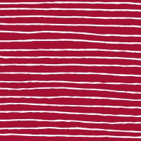 Servietten 24x24 cm - Red Stripe