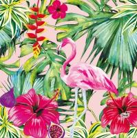 Servietten 33x33 cm - Aloha Floral