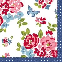 Servietten 24x24 cm - Sweet Roses