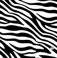 Servietten 33x33 cm - Zebra Stripe