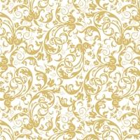 Servietten 33x33 cm - Luxuriöses Gold