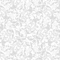Servietten 33x33 cm - Luxuriöses Silber