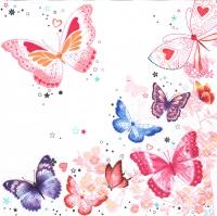Lunch Servietten Butterflies
