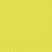 Zelltuch Servietten 33x33 cm - kiwi