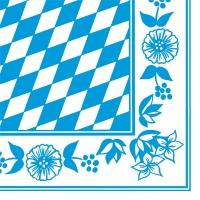 Dunisoft Servietten 40x40 cm - Bayer. Raute