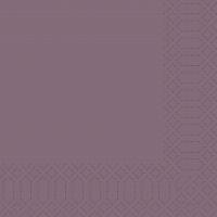 Zelltuch Servietten 33x33 cm - plum
