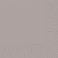 Zelltuch Servietten 33x33 cm - greige