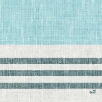 Zelltuch Servietten 33x33 cm - Raya blue