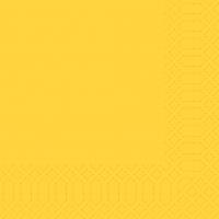 Zelltuch Servietten 33x33 cm - gelb