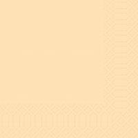 Zelltuch Servietten 33x33 cm - cream