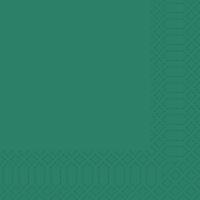 Zelltuch Servietten 33x33 cm - jägergrün