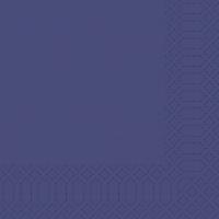 Zelltuch Servietten 33x33 cm - dunkelblau