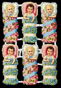 Glanzbilder - Babys