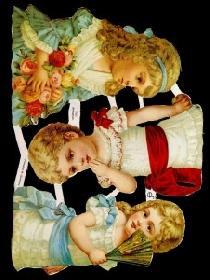 Glanzbilder - 3 Kinder