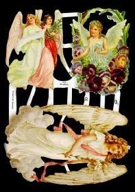 Glanzbilder - verschiedene Engel
