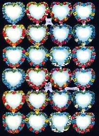Glanzbilder - Herzen ohne Sprüche