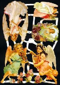 Glanzbilder - Engel