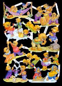 Glanzbilder - Teddys