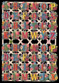 Glanzbilder - Buchstaben
