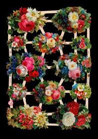 Glanzbilder - Blumen